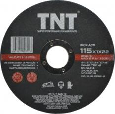 Disco de Corte Inox 41/2 x 1/24 x 7/8 Black Label TNT